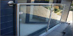 A Framed Glass Juliette Balcony