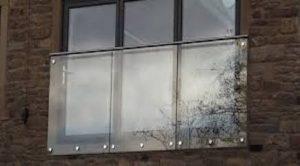 A Frameless Juliet Balcony