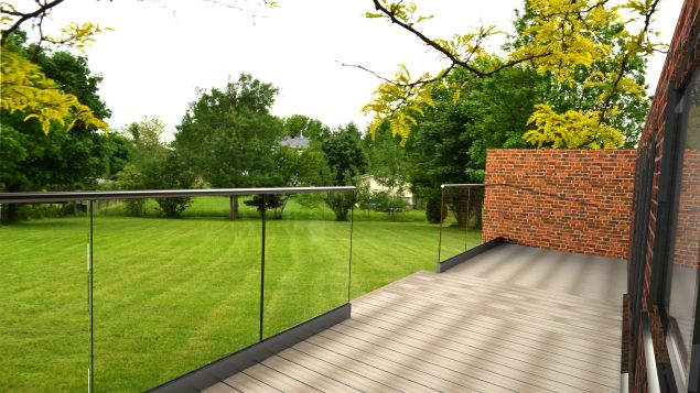 Channel Glass Balustrades