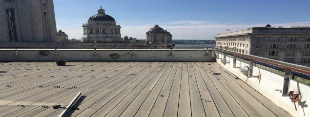 Composite Decking Rooftop Terrace