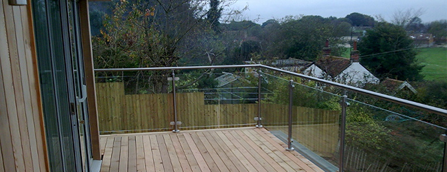 Stainless Steel Balustrade on Balcony