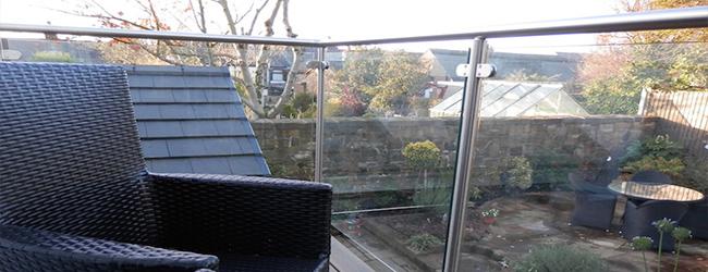 framed glass balustrade system
