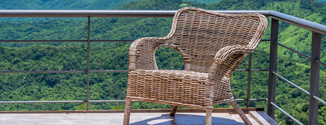 choosing suitable furniture for a rooftop terrace