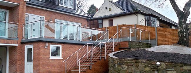 brand new balustrade