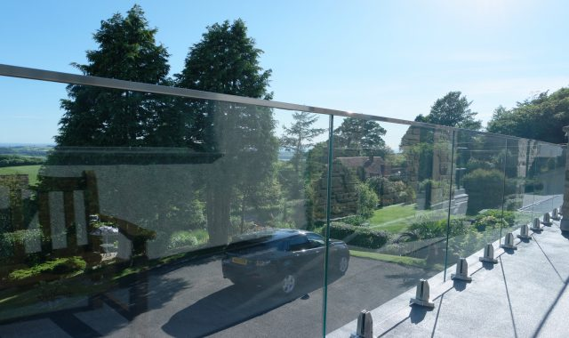 Mini-Post Frameless Glass Balustrades