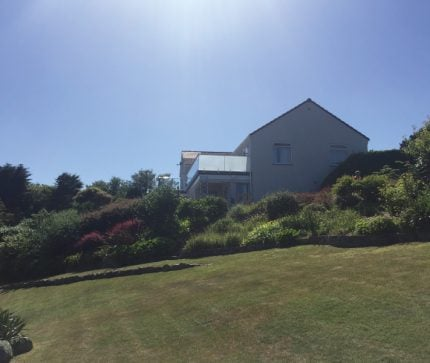 Alderney: Composite Decking, Balcony, and Spa Solution