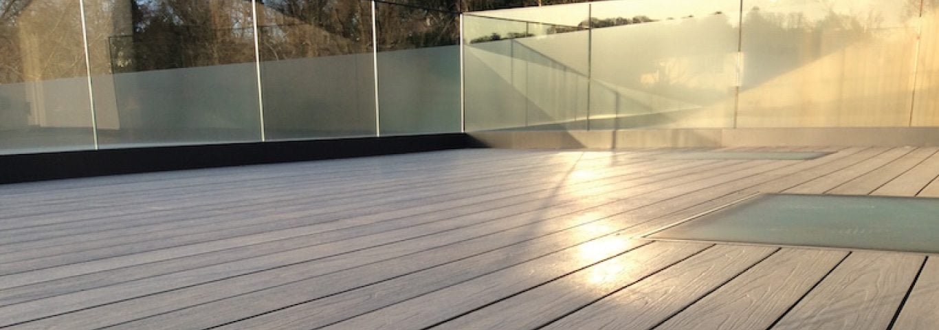 Composite Decking Rooftop Balcony