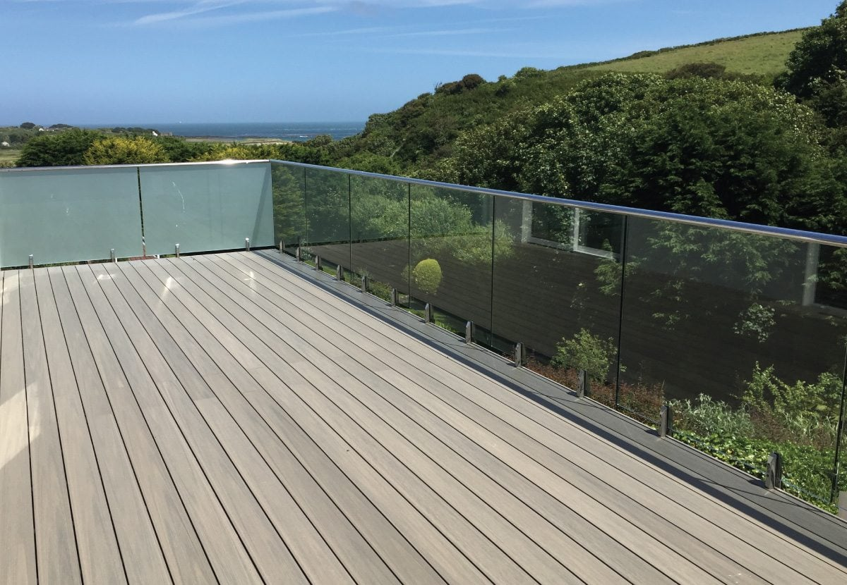 Composite Decking, Balcony, and Spa Solution