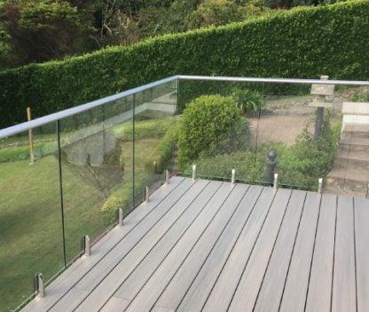 composite deck balcony & spa