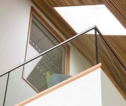 Frameless Mezzanine Railing