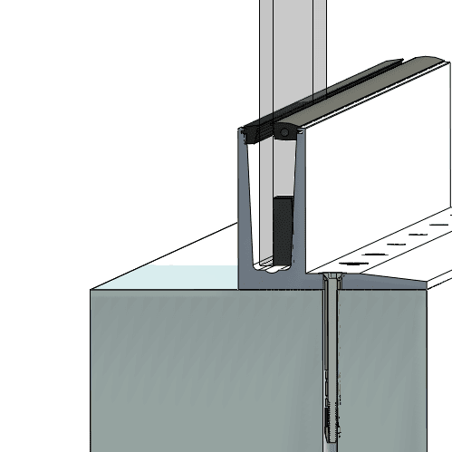 3010 Glazing profile