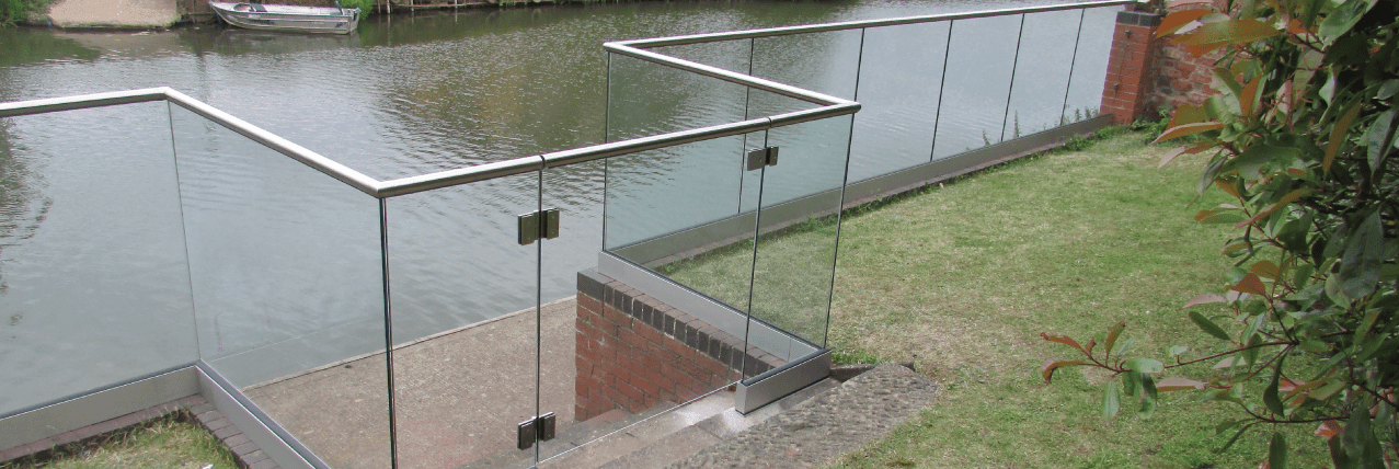 glass railing, glass balcony, glass balustrade, Glazing Channel