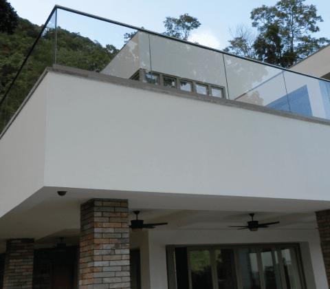 Frameless Glazing Channel Balustrade