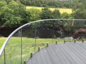 Bespoke Balustrade - Curved Mini Post