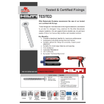 HILTI Tested Leaflet