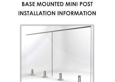 BASE MOUNTED - INSTALLATION INFORMATION