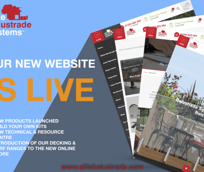 New balustrade website