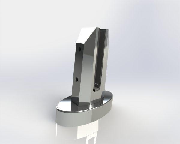 Oval Base Mini Post