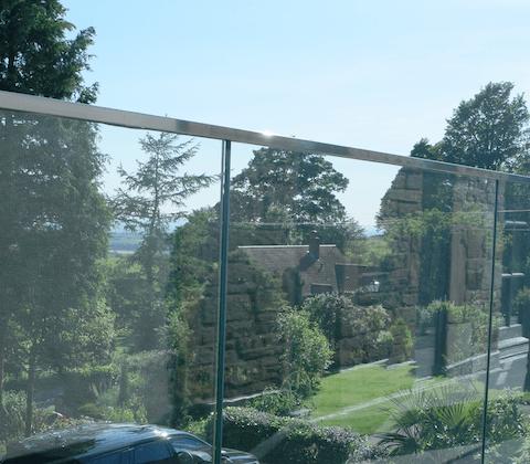 Glass Railing Mini Profile Square